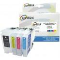 Cartuchos Recargables compatibles para Brother LC3237, LC3239 Negro y Color.