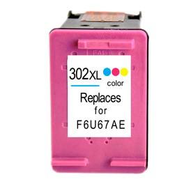 HP 302 XL (F6U68AE) (RESET) TRICOLOR Cartucho de tinta Compatible
