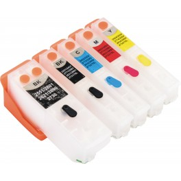 Quickfill Auto-Reset Epson T3331 + T3342-3344 / T3351 + T3361-3364 / T33XL con  Auto Reset Chips
