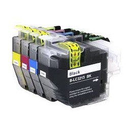 LC3213BK CARTUCHO COMPATIBLE CON BROTHER LC-3213XL LC-3211XL NEGRO 400 PAGINAS