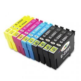 10 Cartucho Compatible T2991-992-993-994 (4x negro+6 color)